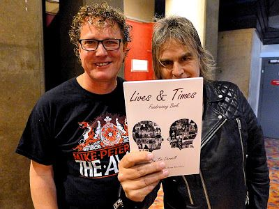 Lives & Times Fundraising Book : Mike & Jules Peters Support Bowel Cancer Charity Book