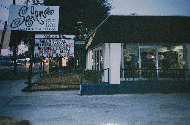 Rare pic of Selena boutique