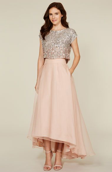 Bridesmaid Stylebook | https://coast-stores.com I wouldnt mind a full length skirt.