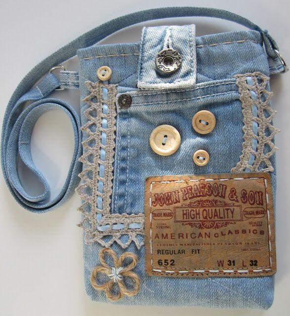 джинсы | переделка