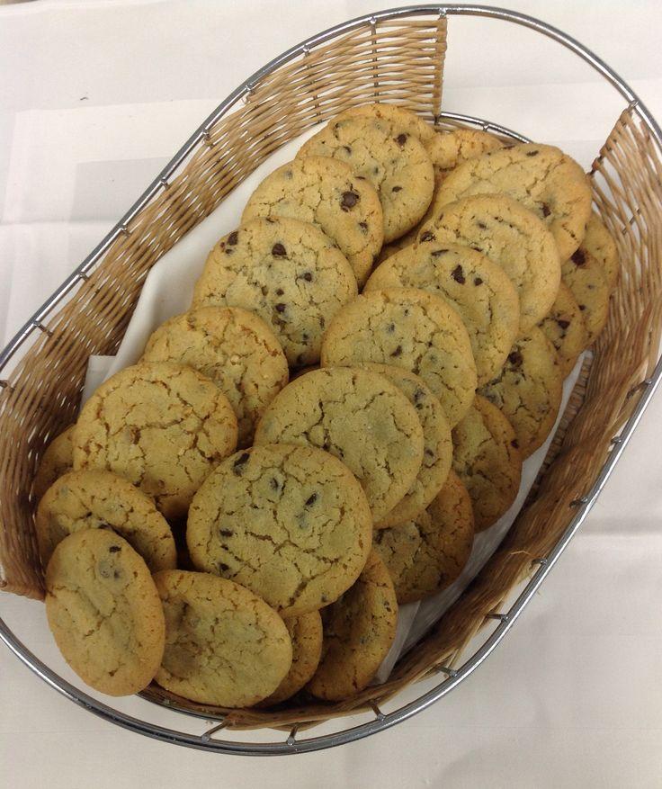 Soft cookies με κομμάτια σοκολάτας