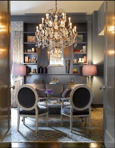 glamorous grayDecor, Ideas, Dining Room, Offices Spaces, Colors, Interiors Design, Living Room, Sitting Room, Home Offices