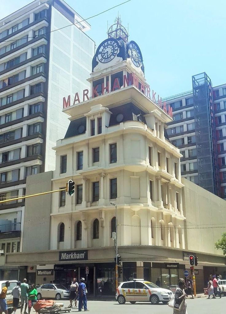 Markhams Building, Johannesburg - Heritage Portal - 2016