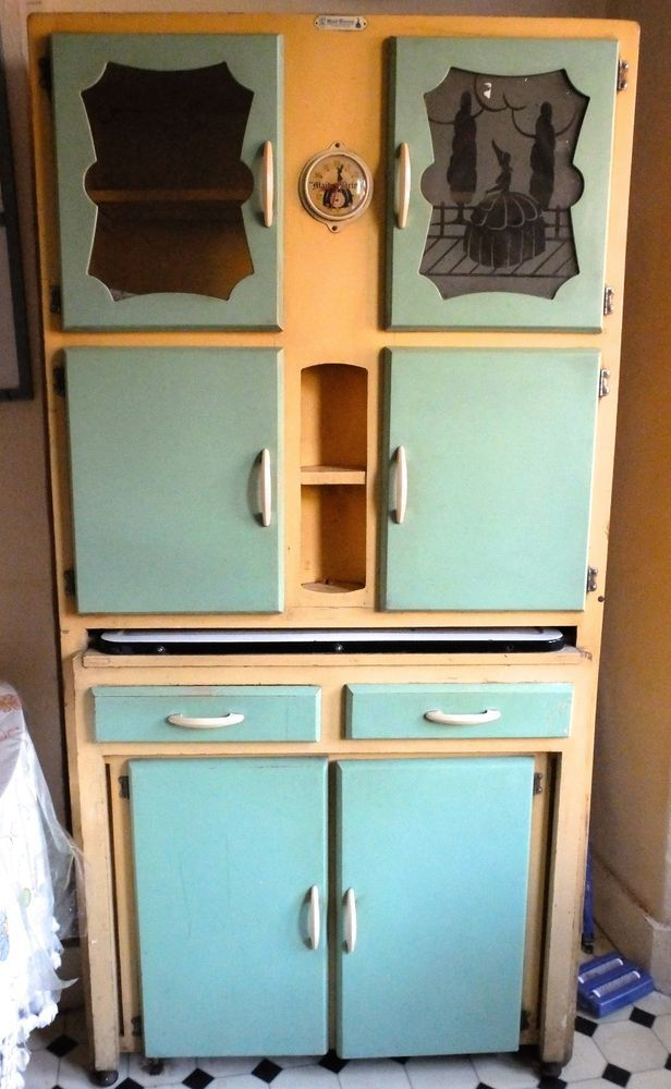 Vintage Retro 1950s Kitchen Unit Dresser Cupboard Maid