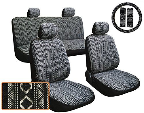 13pc Premium Black & White Baja Inca Weaved Front Rear Car Truck SUV Seat Cover Set, Includes Steering Wheel Covers and Shoulder Pads - http://www.caraccessoriesonlinemarket.com/13pc-premium-black-white-baja-inca-weaved-front-rear-car-truck-suv-seat-cover-set-includes-steering-wheel-covers-and-shoulder-pads/  #13Pc, #Baja, #Black, #Cover, #Covers, #Front, #Inca, #Includes, #Pads, #Premium, #Rear, #Seat, #Shoulder, #Steering, #Truck, #Weaved, #Wheel, #White #SUV-Wheels,