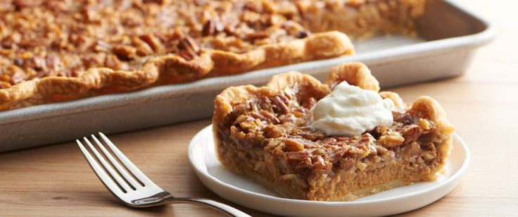 From a crowd-sized slab pie to cute cookie cups and bars, these brand new desserts will be guaranteed hits for all your holiday happenings.