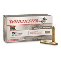 Winchester Super-X Rifle, .22 Hornet, HP, 46 Grain, 50 Rounds: Winchester Super-X Rifle, .22 Hornet,… #Hunting #Shooting #Fishing #Camping http://riflescopescenter.com/category/leupold-riflescope-reviews/
