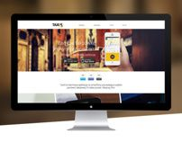 Responsive Web Design for Taxi5