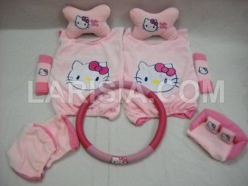 Bantal Mobil 6 in 1 Hello Kitty