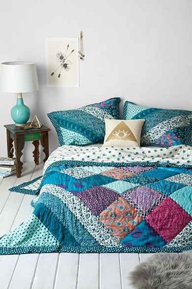 Plum & Bow Flora Patchwork Quilt