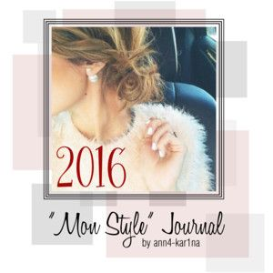 'Mon Style' journal 2016 - Cover Page