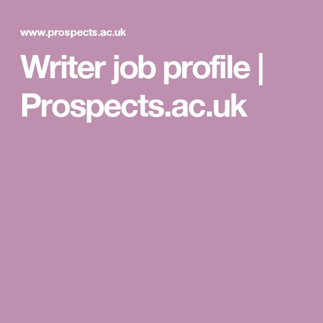 Writer needed uk