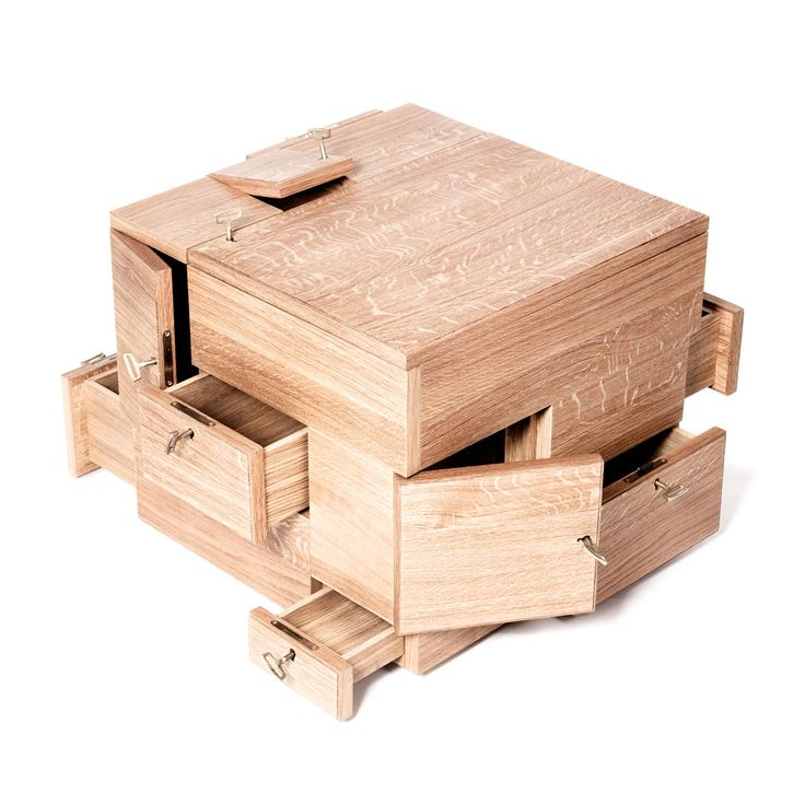 Puzzle Boxes Making - WoodWorking Projects & Plans