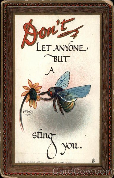 Don't Let Anyone but a Bee Sting You