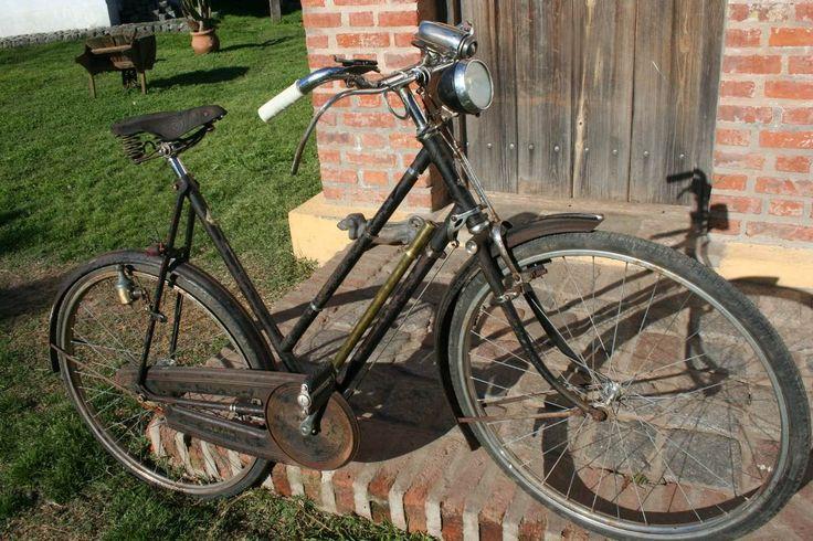 Bicicleta Raleigh (1956) Original - $ 8.500,00 en MercadoLibre