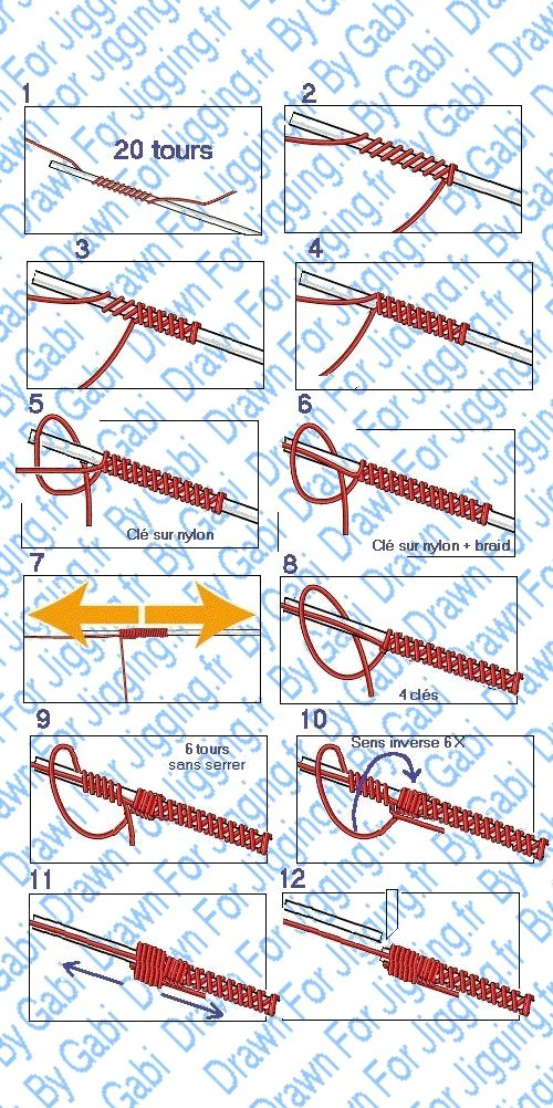 Royalelabrax22: Les noeuds de raccord tresse/fluoro