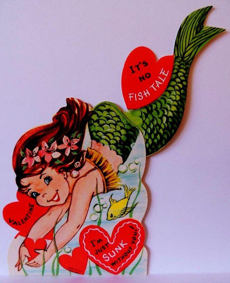 Vintage Mermaid Valentine                                                                                                                                                                                 More