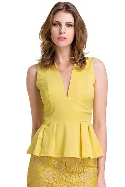 Modelos de Blusas Peplum Femininas: Dicas de Como Usar