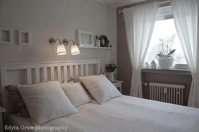Znalezione obrazy dla zapytania dekoracja okna w sypialni