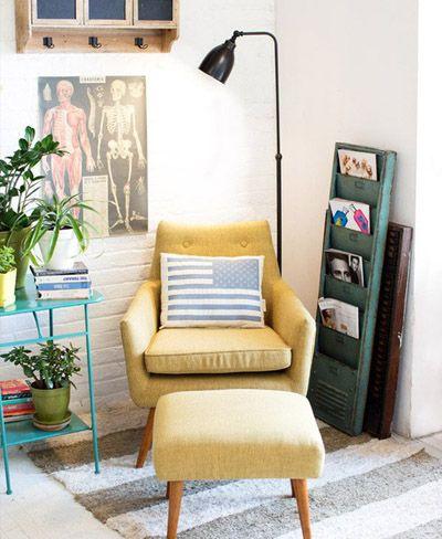 25 Fotos e ideas para crear un rincón de lectura en casa. | Mil Ideas de…