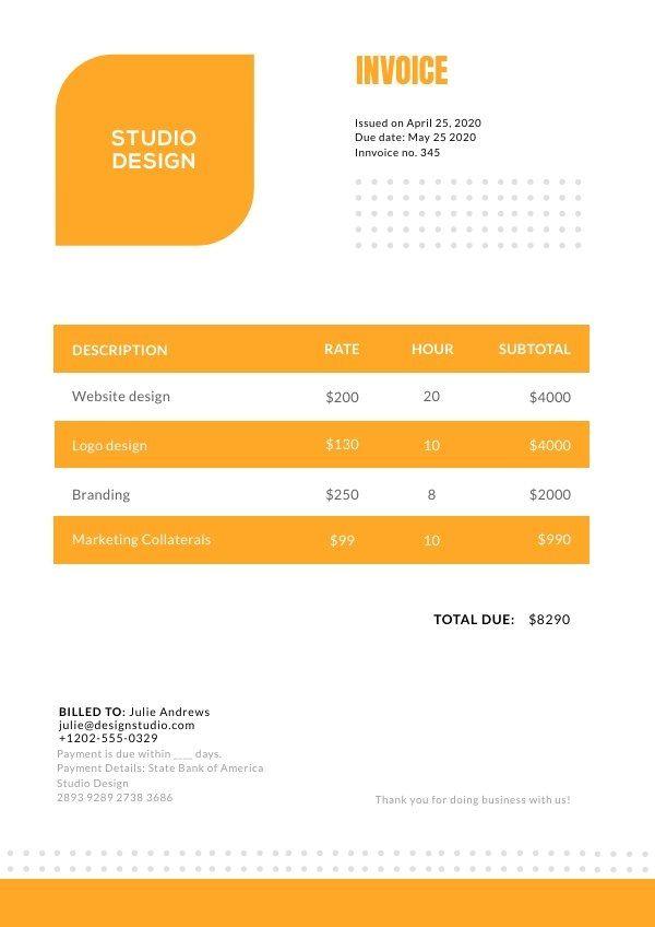 Invoice Design Template Invoice Design Template Invoice Design Design Template