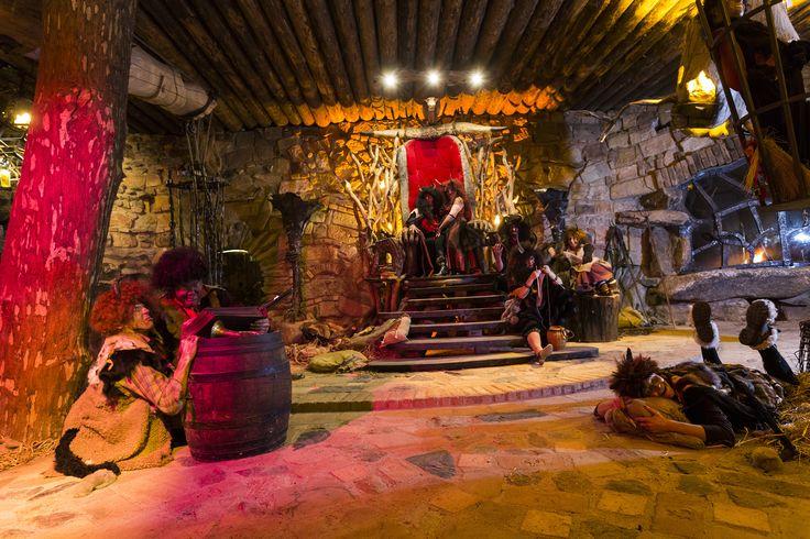 Čertovinské Peklo je jediné svého druhu nejen v naší republice, ale i v celé Evropě a nabízí nezapomenutelný zážitek ve formě zábavy pro celou rodinu.