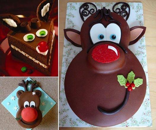 Tutoriel du gâteau de Rudolph le petit renne au nez rouge • Quebec echantillons gratuits