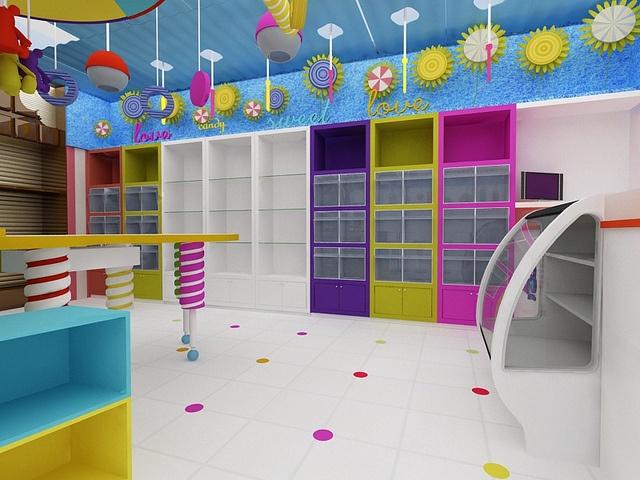 Tienda de Dulces. Store Design. Candy Shop by CUBO 3 taller de diseño, via Flickr