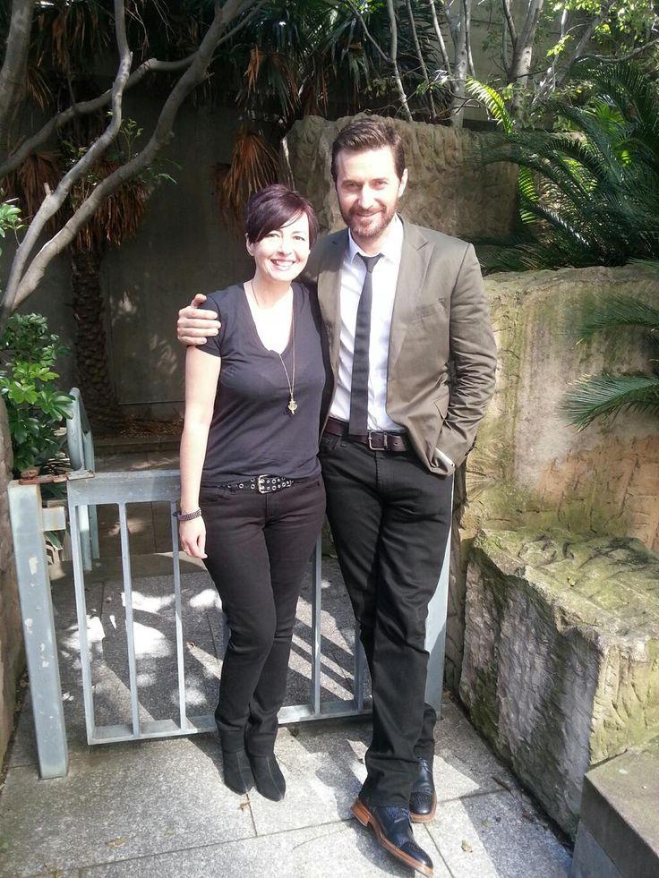 Richard doing press in Australia for The Hobbit DVD release.