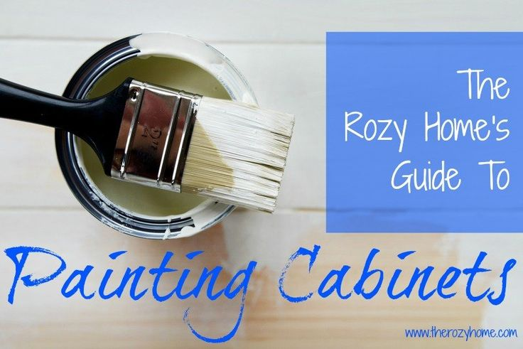What You Need to Know About Painting Cabinets
