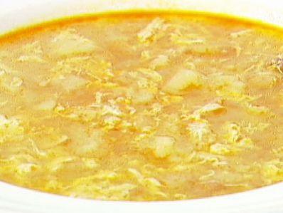 Receta   Sopa de ajo - canalcocina.es
