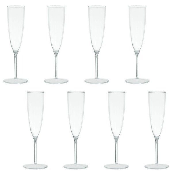 Check out Champagne Flutes 5oz Premium Plastic - Paper & Plastic Cups & Solid Tableware from Birthday In A Box