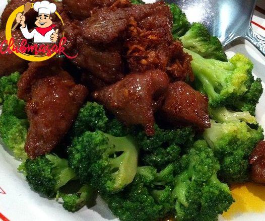 Resep Hidangan Sayuran, Cah Daging Brokoli, Menu Masakan Sehat, Club Masak
