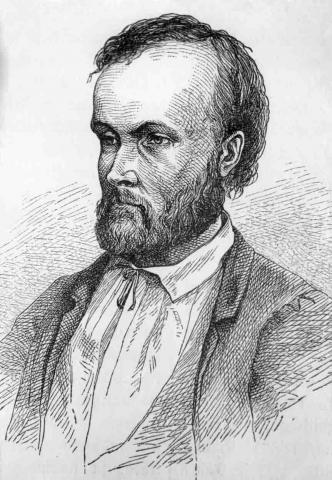 Bilden på Aleksis Kivi är ritad av konstnären Albert Edelfelt år 1873. | På Aleksis Kivis födelsedag den 10 oktober firar man Aleksis Kivi-dagen som är den finska litteraturens dag. - http://vetamix.net/image/aleksis-kivi-portr%C3%A4tt-av-albert-edelfelt_3386