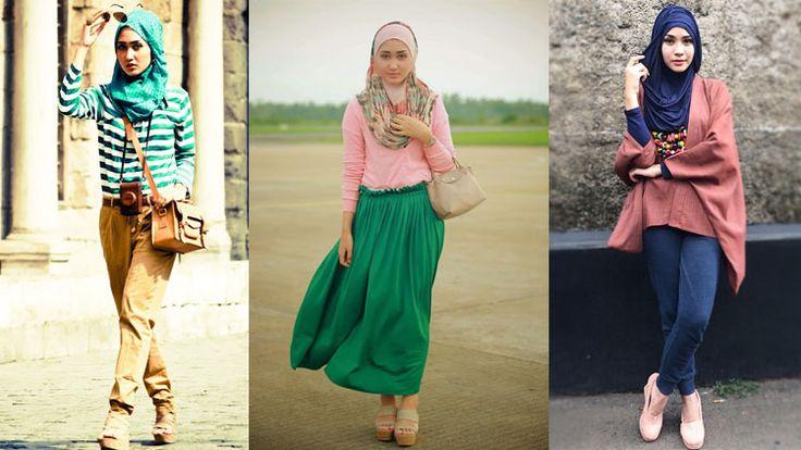Tips Memilih Model Baju Muslim Untuk Kamu Yang Bertubuh Kurus