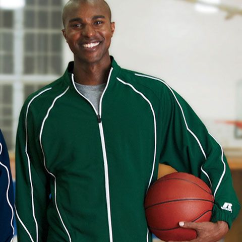 Get a fresh look with Russell Athletic S81JZM Team Prestige Mens Full-Zip Jacket