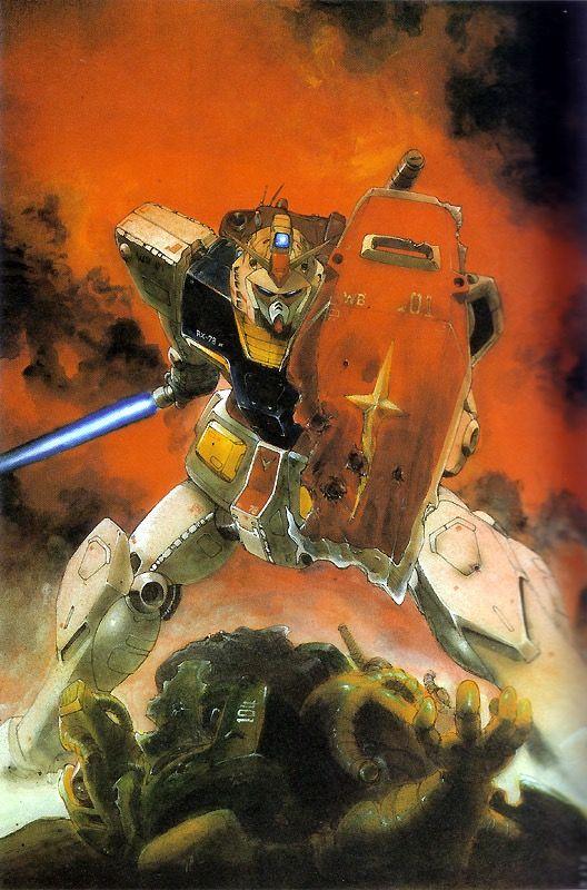 Mobile Suit Gundam - RX-78-2 Gundam