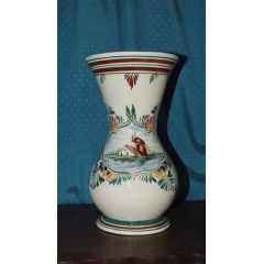 Stunning Large Handpainted Vase - Lucia Ware