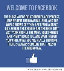 Oh, facebook... good grief. So true.