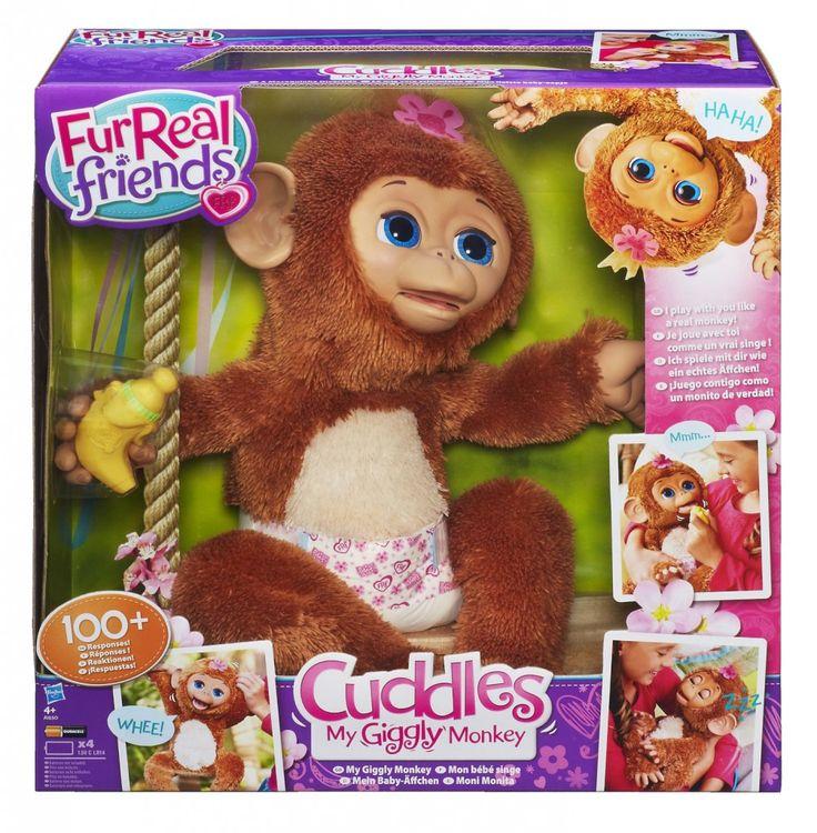 Cuddles, mein Baby Äffchen von FurReal Friends - http://www.paulschreibt.de/cuddles-mein-baby-aeffchen-von-furreal-friends/