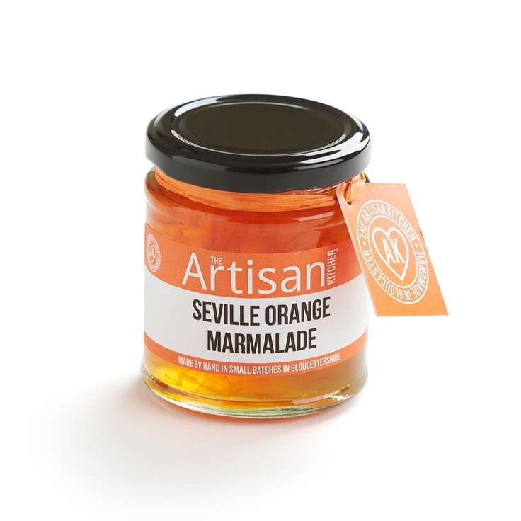 Artisan Kitchen Seville Orange Marmalade  www.theartisankitchen.co.uk