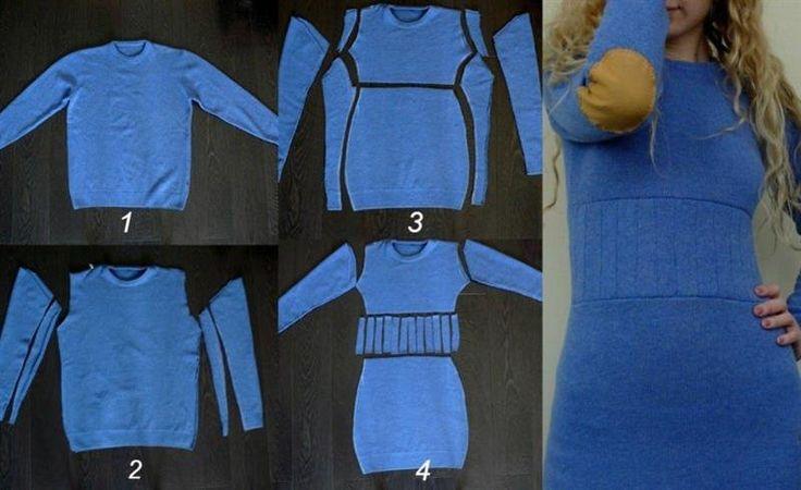 Как переделать старый свитер: 15 интересных, уютных и теплых идей | Naget.Ru