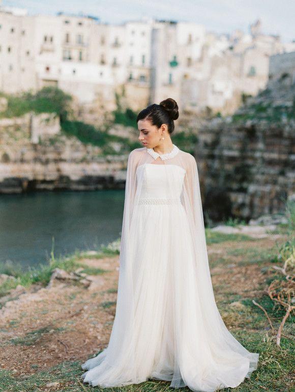 Elegant Italian Bridal Inspiration | Wedding Sparrow