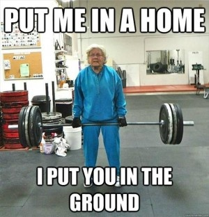 @cafrinegrace Emma: Buff Grandma