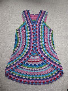 Use up your stash yarn. Cotton, acrylic, wool. App. yardage
