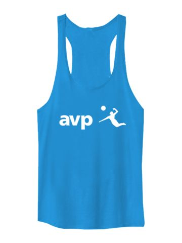 You live and breathe beach volleyball. Ladies get the gear that lets you do just this. This Crop Logo Tank allows you to wear the AVP logo without sacrificing your beachy style.