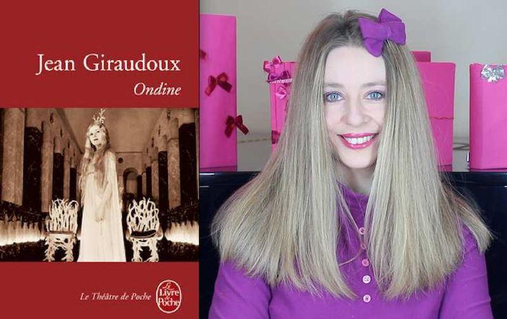 Bonjour les amoureux des livres... Partez avec moi l'esprit girly, en vidéo, à la découverte d' Ondine de Jean Giraudoux… Clin d'oeil girly Capucine Ackermann Pour tous les amoureux des livres, partez avec moi l'esprit girly , à la découverte d'Ondine...