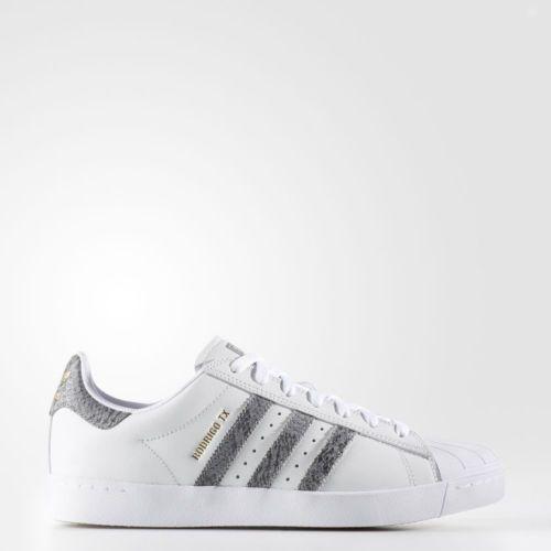 Adidas Superstar Vulc ADV White Grey Gum Sole Rodrigo TX