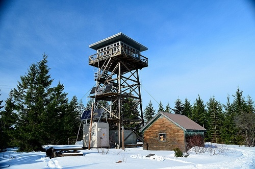clear lake butte lookout mt hood national forest oregon