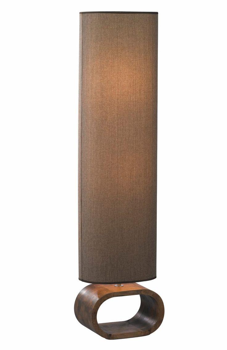 Markslöjd-Lattiavalaisin Neksö, 300x1210mm, pähkinä/ruskea
